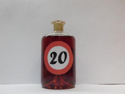 Ovocné víno 0,7l s etiketou rok 20