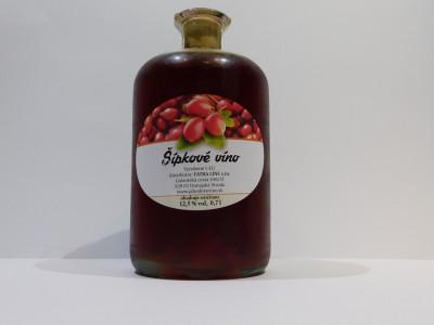 Šípkové víno 0,7l