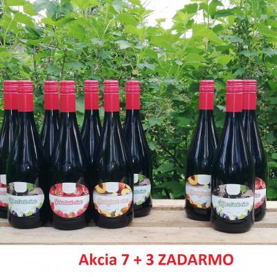 Royal Ovocné víno 0,75l akcia 7+3 ZADARMO
