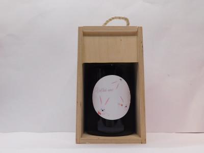 Ovocné víno 0,7 l + drevená krabica Veľká noc 1