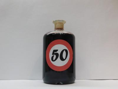 Ovocné víno 0,7l s etiketou rok 50