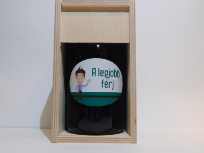 Ovocné víno 0,7 l Férj + drevená krabica