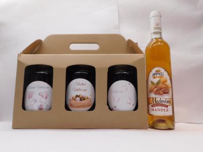 Ovocné víno 3 x 0,7l Veľká noc + medovina 0,5l ZADARMO