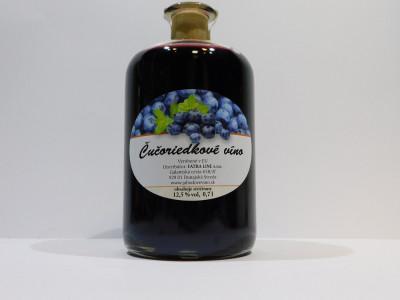 Čučoriedkové víno 0,7l