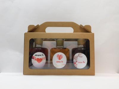 Ovocné víno 3 x 0,2 l Valentín+ papierová krabica