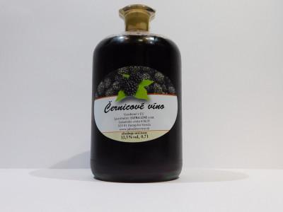 Černicové víno 0,7l