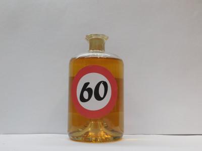 Ovocné víno 0,7l s etiketou rok 60