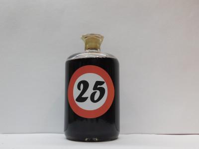 Ovocné víno 0,7l s etiketou rok 25