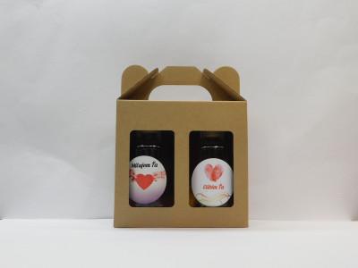 Ovocné víno 2 x 0,2l Valentín 2 + papierová krabica