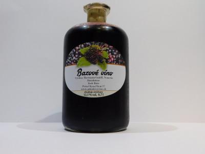 Bazové víno 0,7l