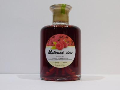 Malinové víno 0,2l