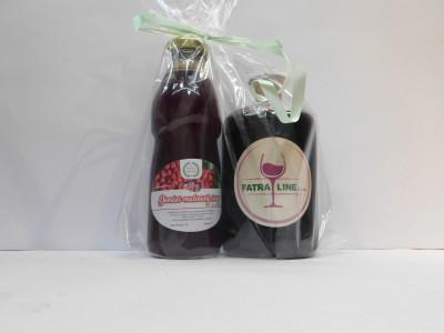 Firemné víno 0,7 l + Malinový sirup 0,5l